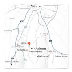 Anfahrt aus dem Großraum München