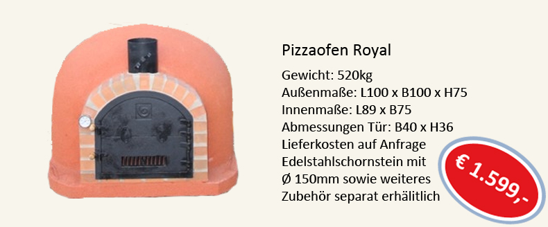 Pizzaofen Royal